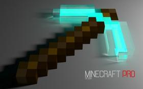 Обои Minecraft, Minecraft обои, Minecraft HD обои, Кирка в minecraft