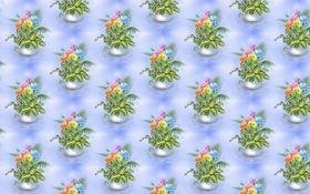 Картинка арт, фон, текстура, букет, цветы