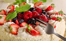 Обои cake, food