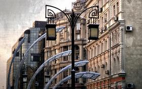 Обои дом, фонарь, eclecticism