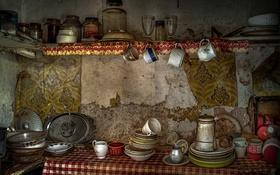 Картинка кухня, посуда, фон