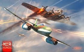 Обои США, USA, MMO, самолёт, бомбардировщик, plane, симулятор