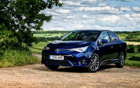Обои Toyota, тойота, UK-spec, 2015, Avensis, авенсис, T270