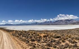 Картинка дорога, пейзаж, Peru, Laguna de Salinas