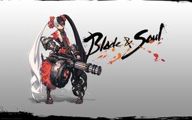 Обои mmorpg, Blade and Soul, лезвие, девушка, душа, blade & soul, ncsoft