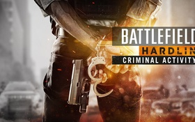 Обои battlefield, gun, handcuffs, shackles