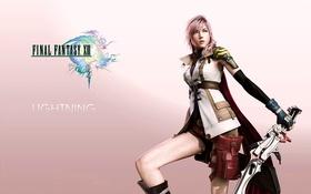 Картинка Лайтнинг, Final Fantasy XIII, Последняя Фантазия 13, Lightning, Эл Си