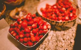 Картинка красные, клубника, ягоды