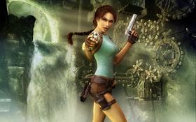 Обои игра, Tomb Raider, Лара Крофт, Anniversary