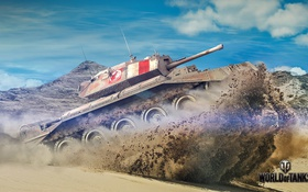 Обои tank, Covenanter, United Kingdom, танк, Великобритания, танки, World of Tanks