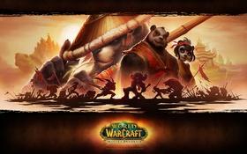 Картинка монах, World of Warcraft, орда, Mists of Pandaria, альянс, Вариан, Тралл