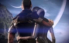 Обои космос, джокер, Mass Effect, масс эффект, сузи, синтез