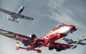 Обои Project Aces, Assault Horizon, A-10, Thunderbolt II, Ace Combat