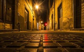 Картинка ночь, город, улица