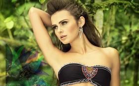 Картинка девушка, модель, прическа, Xenia Deli