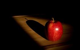 Обои фон, яблоко, фрукт