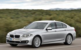 Обои дорога, бмв, BMW, автомобиль, Sedan, 535i, Luxury Line