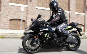Картинка moto, monster, energy, kawasaki