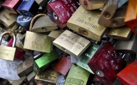 Картинка macro, Köln, lovers bridge, Love Locks
