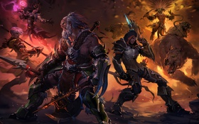Обои diablo 3, diablo, blizzard, game