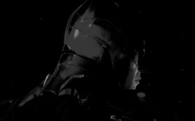 Обои маска, Batman, Бетмен, Arkham Knight
