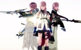 Обои девушка, Lightning, Square Enix, final fantasy, Lightning Returns: Final Fantasy XIII