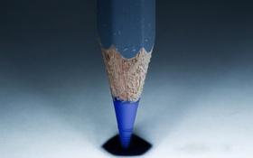 Обои colored, pencil, blue