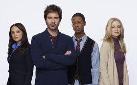 Обои Kelly Rowan, Arjay Smith, Perception, Rachael Leigh Cook, Восприятие, Crime Scene Differently, Eric McCormack