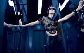 Обои Karlie Kloss, фотосессия, журнал«W», Январь-2014