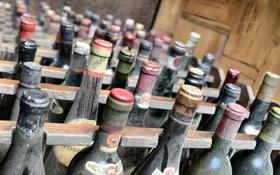 Обои фон, вино, бутылки