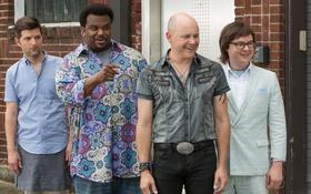 Обои Craig Robinson, Adam Scott, Адам Скотт, Крэйг Робинсон, Машина времени в джакузи 2, Hot Tub ...
