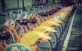 Обои Токио, парковка, bike, велосипеды