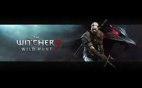 Картинка Ведьмак, Геральт, Witcher, The Witcher 3: Wild Hunt, Ведьмак 3: Дикая охота