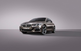 Обои Concept, бмв, BMW, концепт, седан, Sedan, Compact