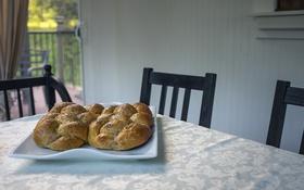 Обои дом, стол, еда, хлеб