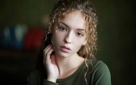 Картинка кудряшки, родинка, прелесть, Aleksanina Elizabeth