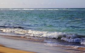 Обои песок, океан, прибой, Доминикана, доминиканская республика