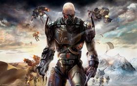 Картинка война, инопланетянин, Enemy Territory: Quake Wars, quake