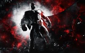 Обои Hero, Abstract, Batman, Night, Bruce Wayne, Video Game, Warner Bros. Games Montreal