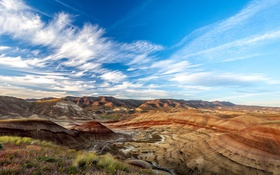 Обои горы, природа, пустыня, каньон