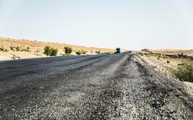 Картинка дорога, небо, пустыня, грузовик