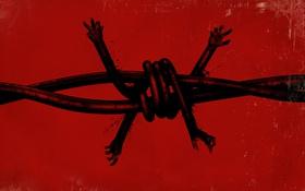 Обои Руки, Bethesda Softworks, Tango Gameworks, The Evil Within, Колючая Проволока