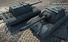 Обои Германия, танк, танки, Germany, рендер, WoT, Мир танков