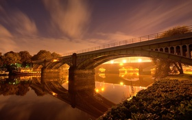 Обои Twickenham Bridge, Richmond, London