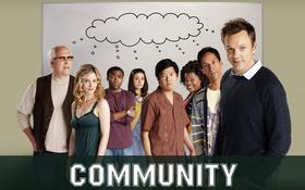Обои сообщество, сериал, community