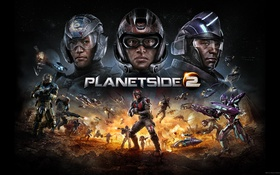 Картинка война, red republic, Sony Online Entertainment, sovereignty, PlanetSide 2, New conglomerate