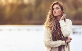 Картинка прелесть, свитер, боке, Laura, Natural light only