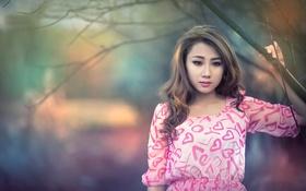 Картинка грусть, портрет, восточная красавица