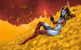 Картинка Valve, DOTA 2, Queen of Pain, Action RTS