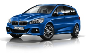 Обои бмв, BMW, Sport, xDrive, 2015, 220d, Gran Tourer